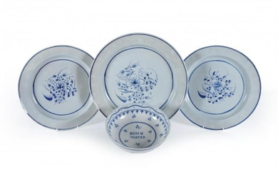 Five items of Staffordshire pearlware
