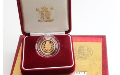 Half Sovereign 2002 Proof FDC boxed as issued