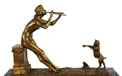 Henri Fugere (1872-1944) Bronze Sculpture