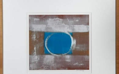 "Joan Busing ""The Ring"" Oil on Paper Monoprint"