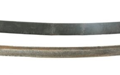 LATE 18TH C. BRITISH CLAMSHELL GUARD HANGER SABER