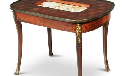 LOUIS XV STYLE COFFEE TABLE.