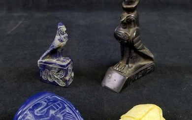 Lot of 4 Egyptian Artifacts Souvenirs