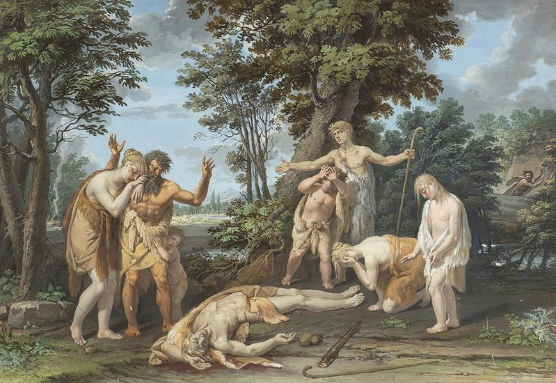 NEOCLASSICAL PAINTER, LATE 18th CENTURY - The