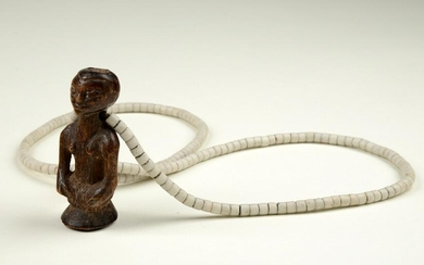 Necklace with charm - D. R. Congo, Luba