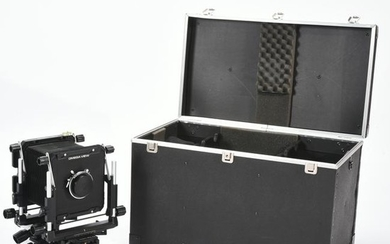 Omega 45E View Camera in Case with Accessories.