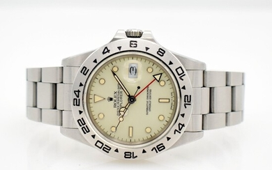 """ROLEX Explorer II """"Creme Dial"""" reference 16550..."""