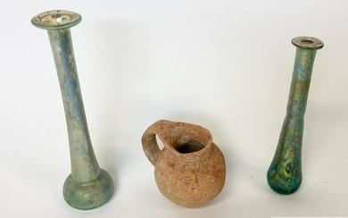 Roman Glass and Ancient Earthenware