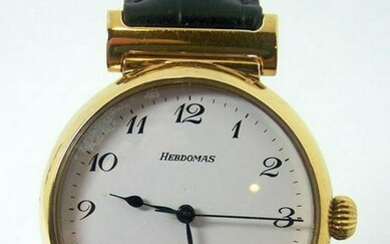 Sterling Silver 18k Gold Plated HERDOMAS Automatic