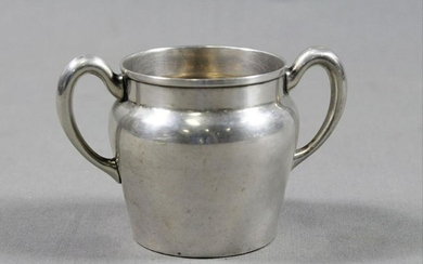 "Sterling Silver Sugar Container 2.5"" Diam 2.5"" H 1.7 Oz"