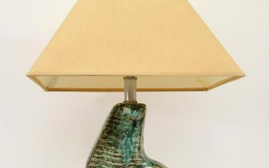Studio Pottery Coiled Table Lamp