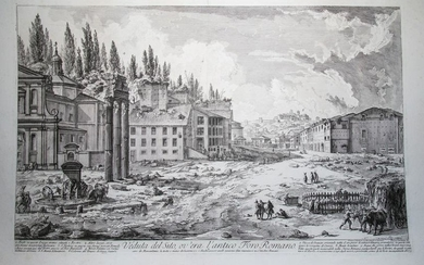 THE FORUM ROMANUM, WITH THE TEMPLE OF CASTOR AND POLLUX
