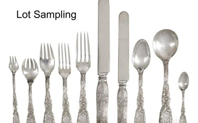 Tiffany & Co. sterling silver flatware service