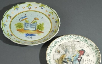 Two French Plates