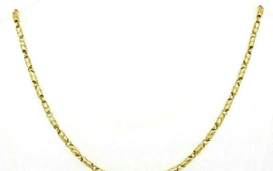 Vintage BULGARI 750 18K Yellow Gold Chain Necklace 20""