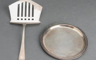 WMF & Puiforcat Silver-Plate Objects, 2 Pieces