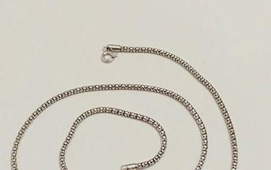 18 kt. Gold, White gold - Necklace