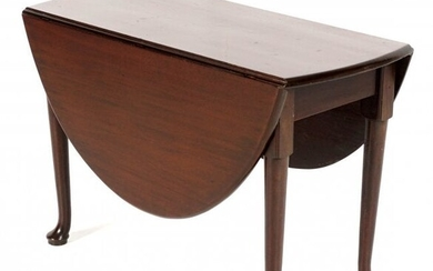 18th C. Queen Anne Mahogany Drop Leaf Table
