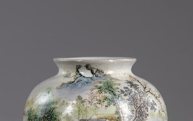 A CHINESE PORCELAIN BEEHIVE WATER POT, CHINA, 20TH