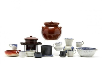 A Group of Pottery Attributed to JB Cole Pottery