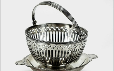 A Tiffany & Company Makers Sterling Silver Double