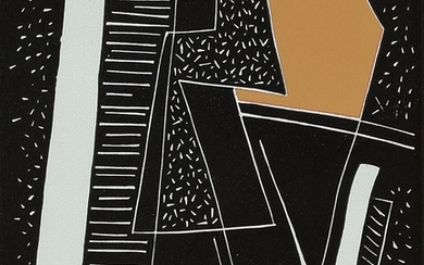 Alberto Magnelli: Untitled. Signed Magnelli, 47/75. Lithograph in colours. Sheet size 64×50 cm.