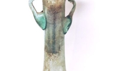 Ancient Roman Glass Ointment with handles
