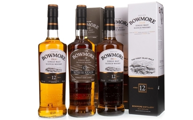 BOWMORE WHITE SANDS 17 YEARS OLD AND TWO