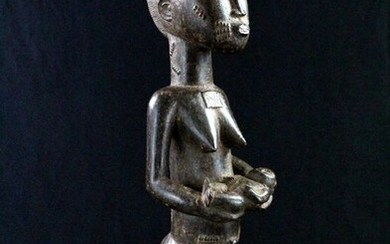 Beautiful Maternity - Wood - Baoulé - Ivory Coast