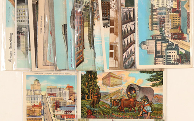 Buildings Founded by Comstock Millionaires (Postcards) #102788