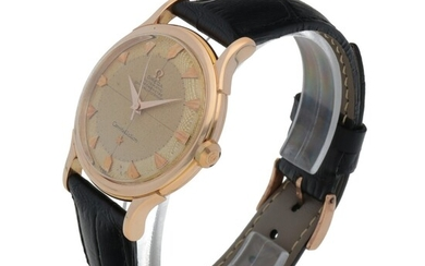 CONSTELLATION, REF 2782 PINK GOLD WRISTWATCH CIRCA 1950