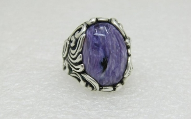 Carolyn Pollack Relios Charoite Ring, Swirling Waves