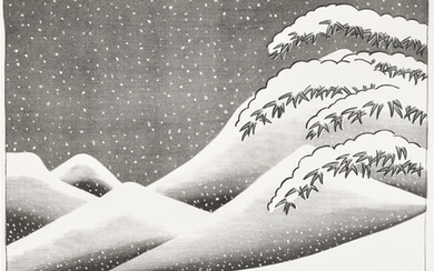 DAVID HOCKNEY, R.A. | SNOW WITHOUT COLOUR (S.A.C. 135; MCA TOKYO 126)