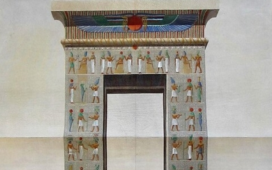Dendrah - Thebes: A Pair of Egyptian Archways.'