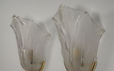 Ezan - A pair of French art deco wall lights, sconces