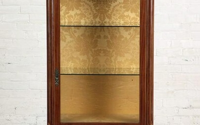 FRENCH LOUIS XVI STYLE MARBLE TOP VITRINE C.1890