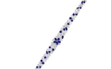 Graff, A Sapphire and Diamond Bracelet, Graff
