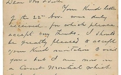 James A. Garfield Autograph Letter Signed