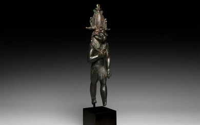 Large Egyptian Statue of Khnum