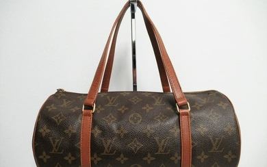 "Louis Vuitton vintage leather bag model ""Papillon"""