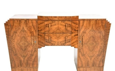 Marcel Guillemard French Art Deco Period Figured Wood