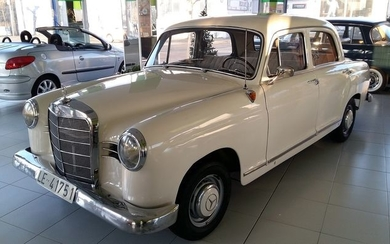 Mercedes-Benz - 190 Db (W121) - 1958