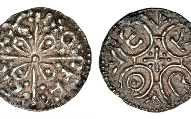 Mercia, Offa (757-796), Penny, Light coinage, South Eastern, non-portrait type, Canterbury, Eob...