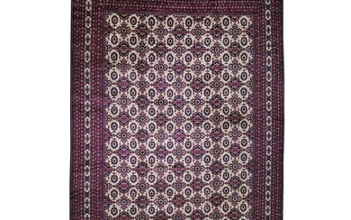 Oversize Afghan Khamyab Hand-Knotted Pure Wool Oriental
