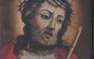 "Painting, ""Ecce Homo"" (1) - oil on canvas - 17th century"