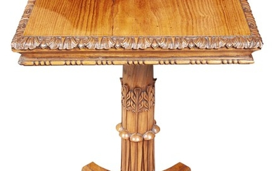 Pair of Hardwood Occasional Tables