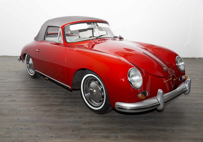 Porsche - 356 A cabrio by Reuters 1600 Super Hardtop- 1959