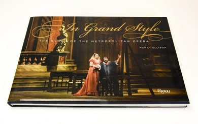 Rizzoli In Grand Style Opera Coffee Table Book