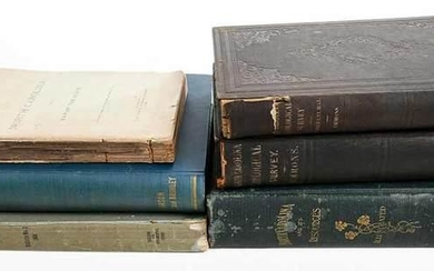 Six N.C. Natural History and Geology Books