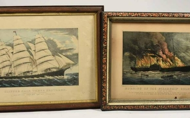 Two Currier & Ives Lithographs